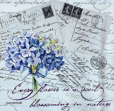 3 paper napkins for Decoupage /wedding/parties