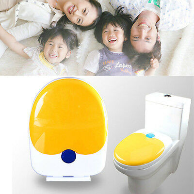2 in 1 Toilet Seat Cover Toddler Kids Adult Family Potty Training Chair Cover AU