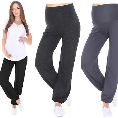 MijaCulture Relaxed Maternity trousers pants Harem Aladin with extra panel 4069