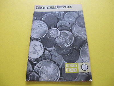 Coin Collecting Boy Scouts of America Booklet
