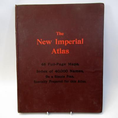 The New Imperial Atlas - James Askew & Sons Preston - 48 Full Page Maps