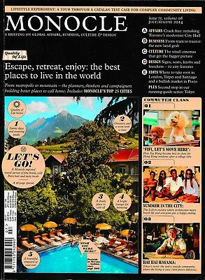 Monocle - Issue 75 - Volume 08 - July/August 2014