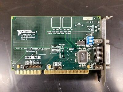 *VB Best Offer* National Instruments AT-GPIB / TNT ISA 181030-01 Rev. D 1993