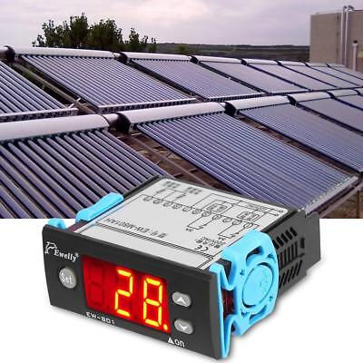 EW-801 Digital Solar Water Heater Temperature Controller Thermostat w/ Sensor CE
