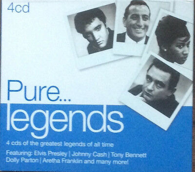 Various - Pure...Legends - 4xCD (2013) - Brand NEW and SEALED