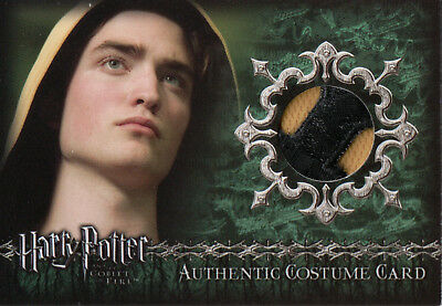 Harry Potter & The Goblet of Fire, Robert Pattinson Relic Card C8 VARIANT