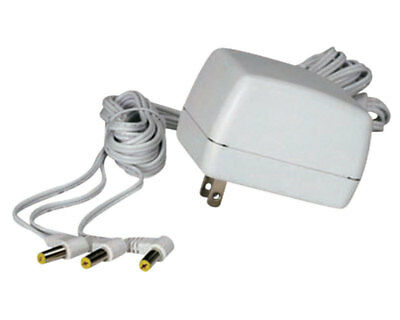 Lemax 3 Output Jacks AC Power Adapter Porcelain Village Accessory White 74706
