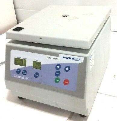 VWR CLINICAL 200 CENTRIFUGE 6000RPM 120V without Rotor Thermo Fisher Scientific