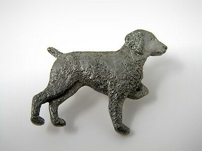 Vintage Collectible Pin: GG Harris Pewter POINTER DOG