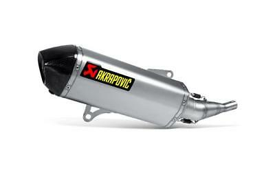 Yamaha Xmax 250 X-Max 2009-2016 Akrapovic Road Legal End Can Stainless Steel
