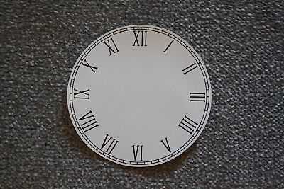 "Vintage 5.5"" clock face/dial ""Thin"" Roman numeral renovation wet transfer system"
