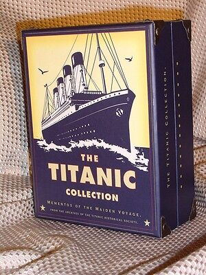 The Titanic Collection: Mementos of the Maiden Voyage ~ MINT Gift Quality!