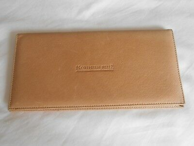 Northern Belle Orient Express Real Leather Ticket Holder Travel Wallet