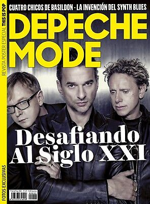 This Is Pop Especial Monográfico y Doble Poster Depeche Mode