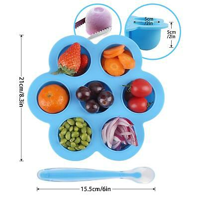 Yiwalab reusable storage container and reezer tray with lid