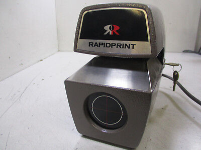 RAPID RapidPrint AD-E Date Stamp RECORDER T9-A17
