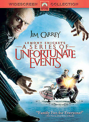 Lemony Snicket's a Series of Unfortunate Events (Widescreen Edition) DVD, ,