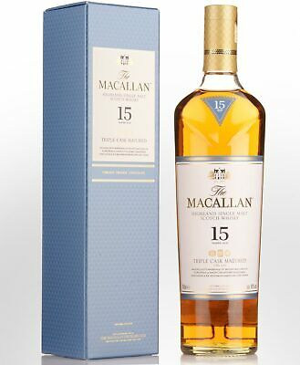 The Macallan Fine Oak 15 Year Old Single Malt Scotch Whisky (700ml)