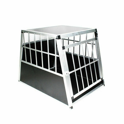 Aluminium  Alu Hundetransportbox Hundebox Reisebox Autotransportbox Gitterbox LX