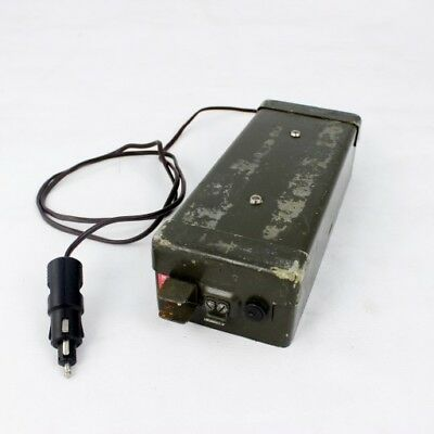 Car power adapter for PRC-77 radio