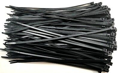 CABLE TIES,ZIP TIES STRONG NYLON 240mm X 4.8mm WRAP ORGANIZER  CHOOSE QTY