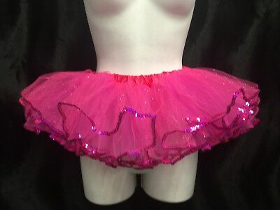 Pink Tutu with Sequins Child Size M Sale