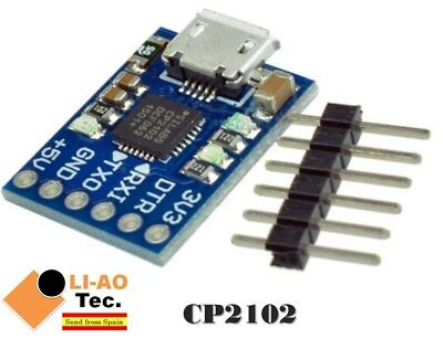 CJMCU CP2102 MICRO USB to UART TTL Module 6Pin Serial Converter Replace FT232