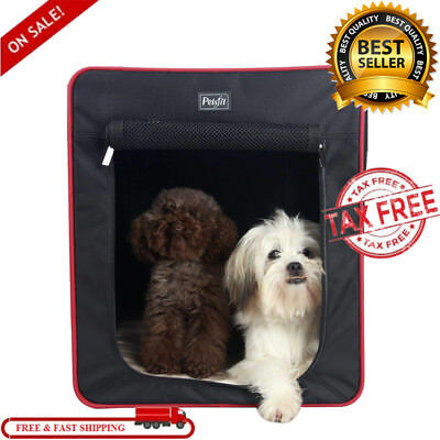 SALE Extra Large Dog Soft Fabric Crate Kennel Pet Wire Cage Huge Cover Foldable