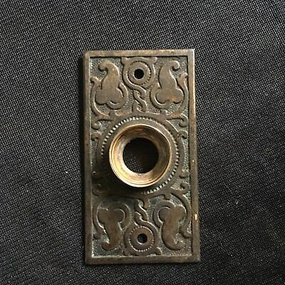 ANTIQUE Russell And Erwin  Design BACKPLATE  Very Ornate