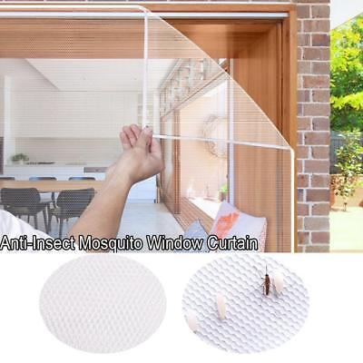 Anti-Insect Fly Bug Mosquito Door Window Curtain Net Mesh Screen Protector Cover