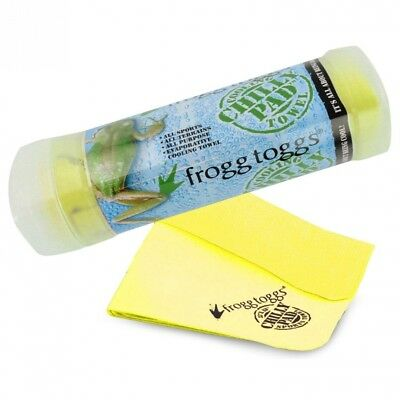 (HiVis Yellow) - Frogg Toggs The Original Chilly Pad Cooling Towel