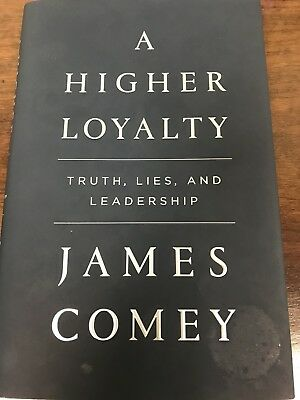 JAMES COMEY Authentic Hand Autographed Signed Book ** COA (Beckett) BAS