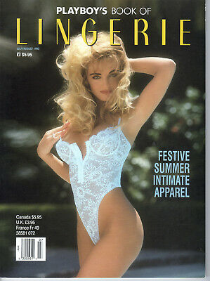 Playboy's Book of Lingerie - July-August 1992 - Newsstand Special
