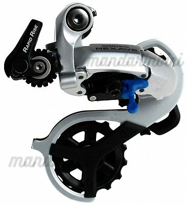 Shimano RD C505 Nexave Rapid Rise Rear Derailleur 8 speed Long Cage Silver