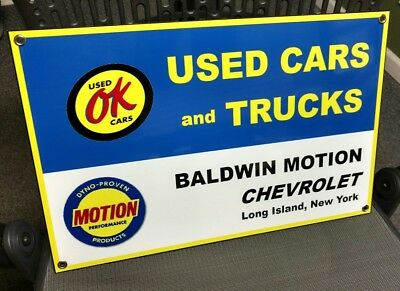 Baldwin Performance Motion Chevrolet Sign