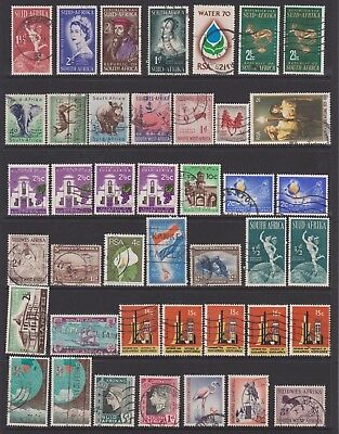 Africa Assortment - 5pages (200 stamps)