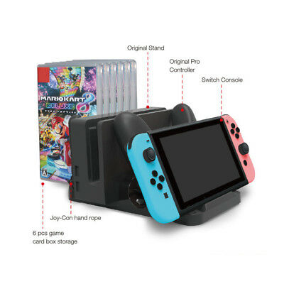 Multifunctional Charging Stand Dock For Nintendo Switch Console/PRO Controller