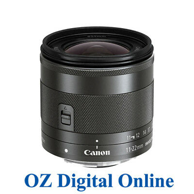 NEW Canon EF-M 11-22mm F4-5.6 IS STM Lens 1 Year Aust Wty