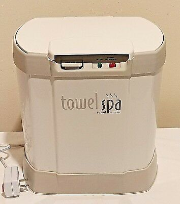 Brookstone Towel Spa Warmer Auto Shutoff Electric 460 Watts Model Tsk-5201Ma
