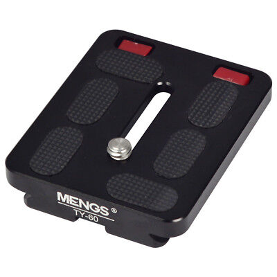 TY-60 Camera Quick Release Plate For Video Camera DSLR