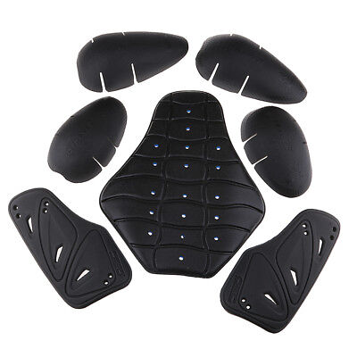 Motorcycle Armour Chest+Shoulder+Knee+Back Biker Motocross Protective Pads