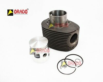Complete 66.00 Mm Cylinder Kit With Piston Vespa Px 200