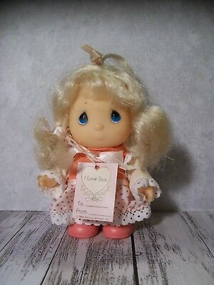 """The Enesco Precious Moments Collection, Doll w/""""I Love You"""" Tag, Valentine, 4"""""""