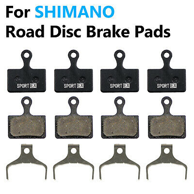 Shimano L02A  Brake Pads with Fin for Flat Mount BR R9170/8070 Road Disc Caliper