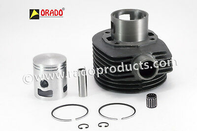 3 Port Cylinder With Piston & Rings For Vespa Lml Px #OE
