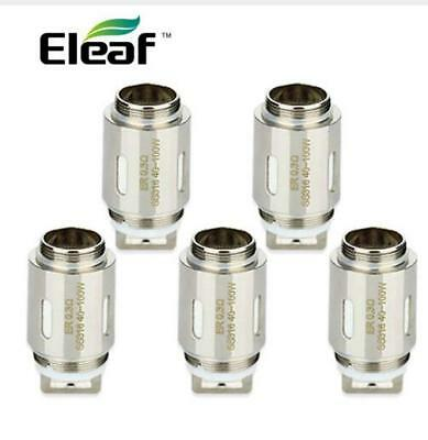 5pcs Luxury Eleafe ER Head for Aster RT Tank 0.3ohm Coils SS316 VW/TC/TCR Mode