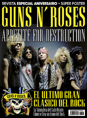 This Is ROCK Revista Magazine Especial Monográfico + 2 Poster Guns N' Roses