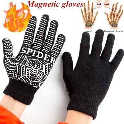 Magnetic Therapy Anti Arthritis Compression Gloves Rheumatoid Hand Pain Relief