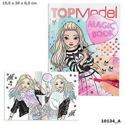 Top Model Magic Book - Malbuch  - Depesche 10134