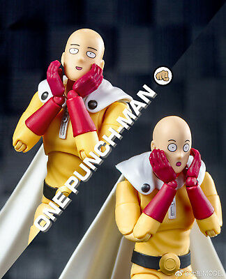 Dasin One Punch Man Action Plastic Model SHF Figure